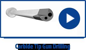 """Eldorado .5460 x 6.5/"""" Carbide Tipped Gun Drill"""